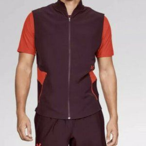 $70 Under Armour Threadborne Zippered Vanish Vest